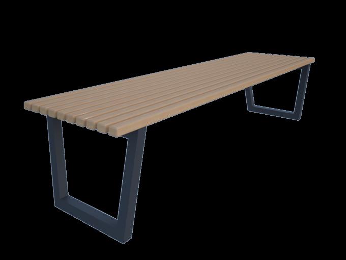 Скамейка без спинки URB-SM.11.2