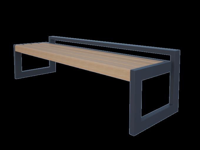 Скамейка без спинки URB-SM.03.6