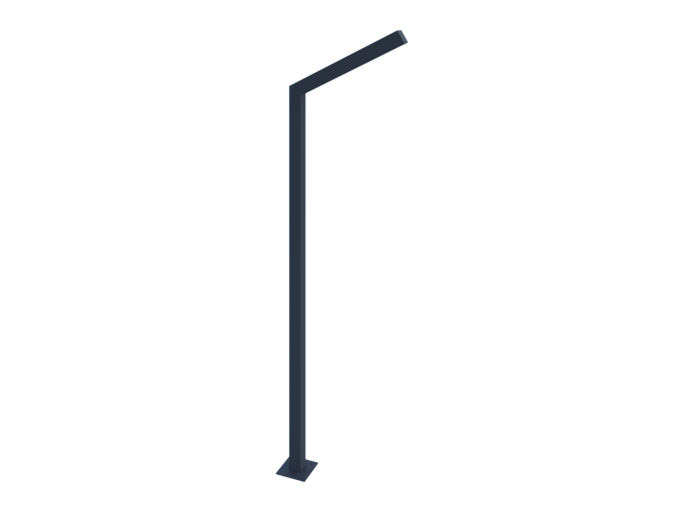Фонарный столб металлический картинка