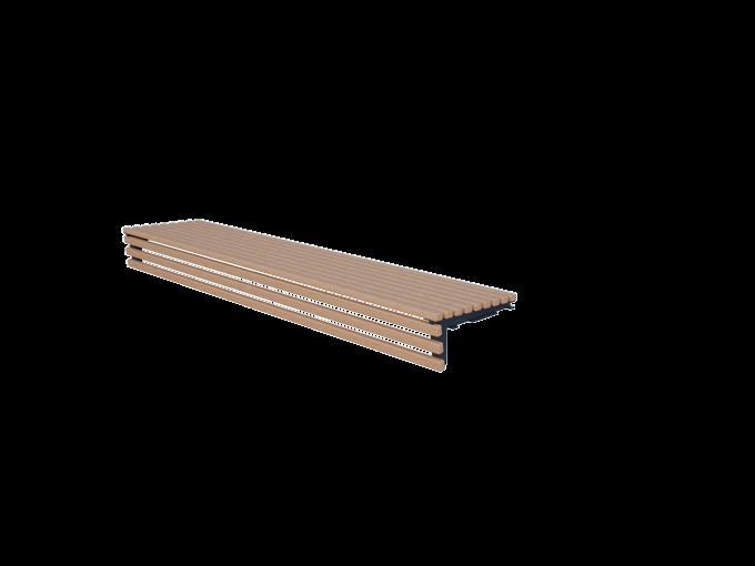 Скамейка без спинки URB-SM.05,3