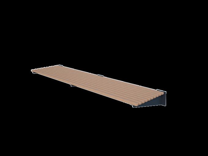 Скамейка крепиться к стене URB-SM.11.3