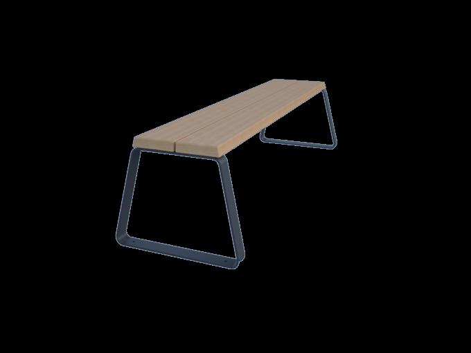 Скамейка без спинки URB-SM.02.4